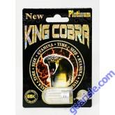 King Cobra Platinum 69K Male Enhancement for Men 1 Pill