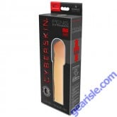 CyberSkin Penis Extension 4 Xtra Thick Light Color
