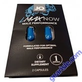 Jo LMAX Now Male Optimal Performance Daily Formula 2 CT/ Packge Pill