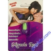 Miracle Leaf Super 1800 The Ultimate Male Enhancement 72 Hours