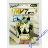 MV7 Days Platinum 5000mg  Male Sexual Enhancement  Pill