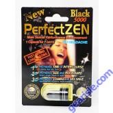Perfect Zen Black 5000 Sexual Enhancement Pill