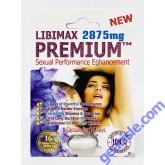 New Premium 2875 mg Sexual Performance Enhancement for Men 1 Pill