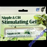 Nipple & Clit Stimulating Gel Cool Minty Flavor 1 Oz
