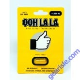 OOH LALA 44000mg Male Sexual Enhancement Gold Pill