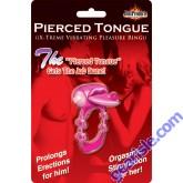 Pierced Tongue X Treme Vibrating Pleasure Ring