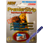 Premier Strip 25000 Male Sexual Enhancement 3000mg