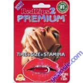 Red Lips 2 Premium Improved Formula 1250mg Genuine Natural Enahncement for Men Pill