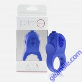 Primo Apex Screaming Vibe Ring Premium Silicone 4 Function 3 Speed