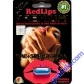 Red Lips Premium 1250mg  Triple Maximum Genuine Natural Enhancement for Men 1 Pill