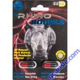 Rhino Double 5800 Male Sexual Performance Enhancer 2 Pills