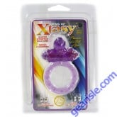 Ring of Xtasy Super Stretch Silicone Mega Powered Purple Turtle Toy