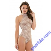 Carissa High Neck Lace Playsuit Romp R530