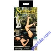 Sex Sling Cheetah Padded Neck Strip