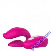 Selfie Vibrator Share Pink Intimate Toy Waterproof Rechargeable Silicone