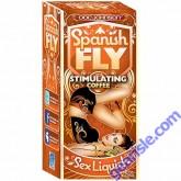 Spanish Fly Coffee Horny Goat Weed Sex Liquid Drops Doc Johnson 1 fl Oz