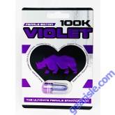 Rhino Violet 100K Female Enhancement Pill