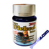 Wicked Platinum 2000mg 6 Count Bottle Sexual Enhancement Pill
