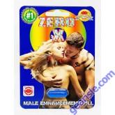 Zero X Male Sexual Enhancement Blue Pill