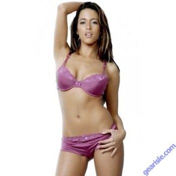 Bra Panty Vx Intimate Collection Berry Color 1038