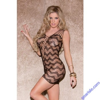 Glitter 32046 Shredded Wave Chemise Lingerie