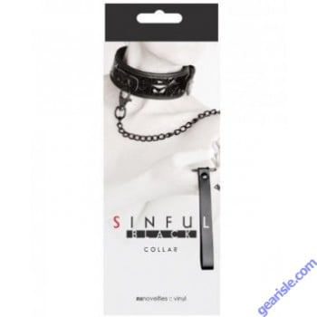 Sinful Black Collar