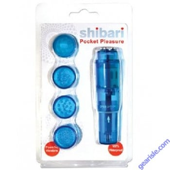 Shibari Surge Pocket Pleasure in Blue