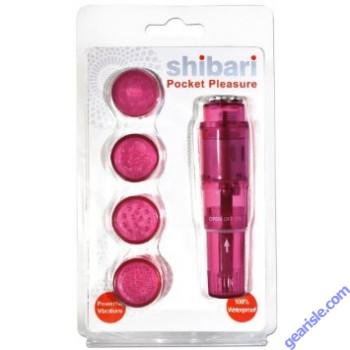 Shibari Surge Pocket Pleasure in Pink