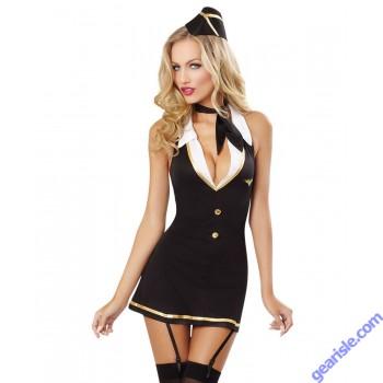 Dreamgirl 9769 Mile High Hottie Stewardess Bedroom Costume