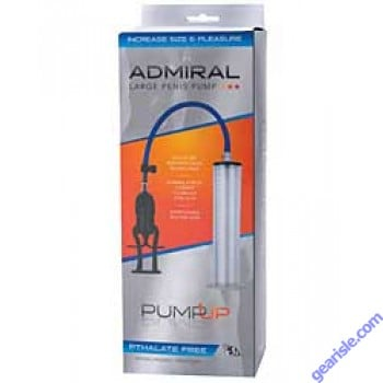 The Admiral Large Penis Pump Up for Male Enhancement