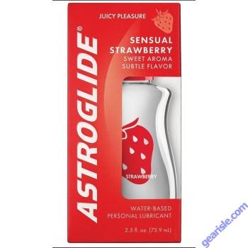 Astroglide Strawberry Liquid Lube Vaginal Moisturizer 2.5Oz