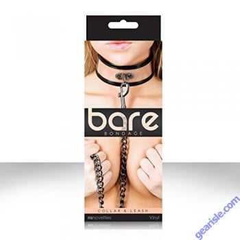 Bare Bondage Collar & Leash by NS Novelties
