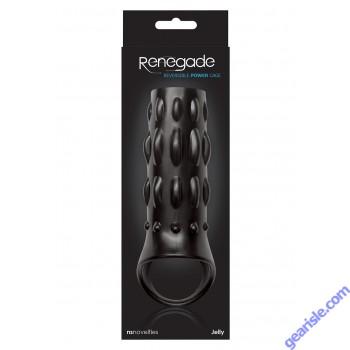 Renegade Reversible Power Cage Black NS Novelties