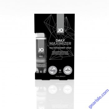 System Jo Daily Maximizer Male Enhancement Cream 1 Oz