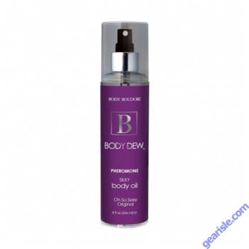 Body Dew Pheromone Silky Body Oil Oh So Sexy Original 8 Oz