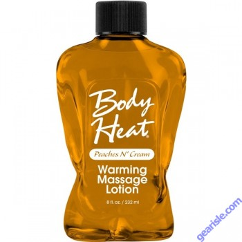 Body Heat Flavored Massage Oil