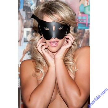 Leather Cat Mask CM-100