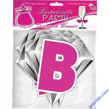 Bachelorette Party Diamond Banner By Hottproducts