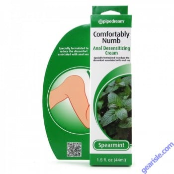 Comfortably Numb Anal Desensitizing Cream Spearmint 1.5 fl oz 44ml