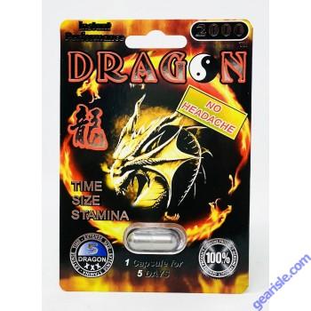 Dragon 2000 Male Enhancement Platinum Pills