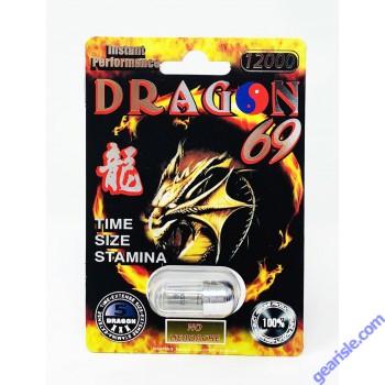 Dragon 5000 Platinum Male Enhancement Pill by Ecstacy
