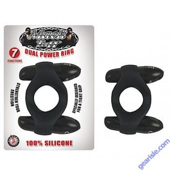 Dual Power Ring 7 Functions Silicone Mack Tuff