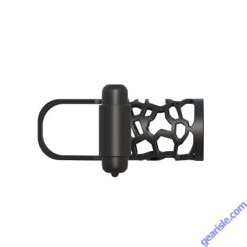 Fantasy C Ringz Thick Dick Silicone Vibrating Cage Bullet