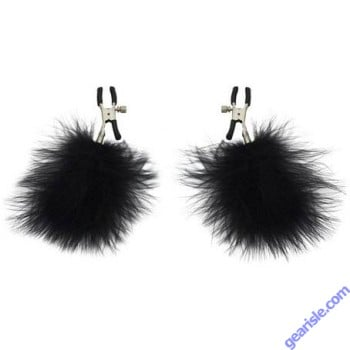 Feathered Nipple Clamps S & M