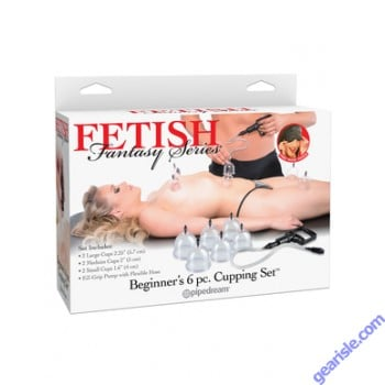Fetish Fantasy Series Beginner's 6 pc Cupping Set PD3926-00