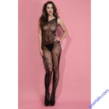Lady's Keller Legs Fishnet Body Stocking 818JT070 Yelete Group
