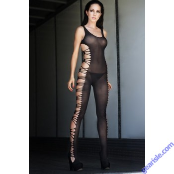 Lady's Keller Legs Fishnet Body Stocking 818JT085 Yelete Group Lingerie