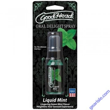 GoodHead Oral Delight Spray liquid Mint
