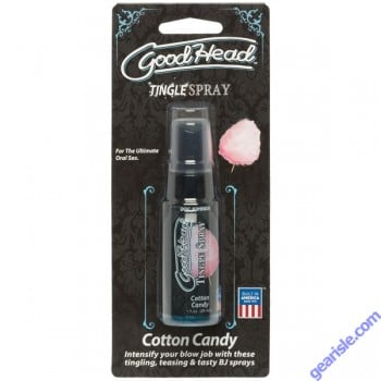 Goodhead Tingle Spray Cotton Candy 1 oz.