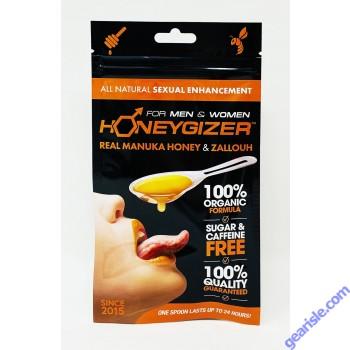 Honeygizer Spoon Real Manuka Honey Zallouh Male Enhancement